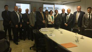 A ABES apresentou, em nome das instituições presentes, propostas de implementação a curto prazo para desenvolvimento do setor.